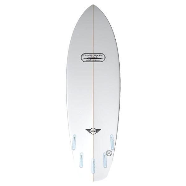 Mini Eco-Hybrid back view - Channel islands Surfboards