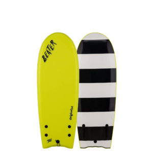 catch surf-soft-top-surfboards- Beater Original 54 - Twin Fin - Electric Lemon 20