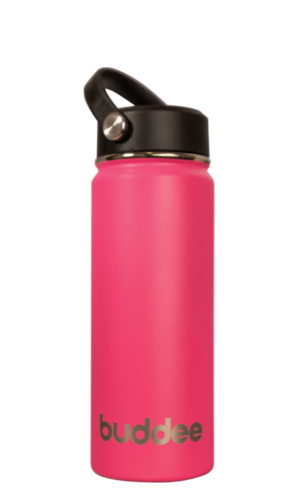 530ml Buddee Bottle WM - Pink