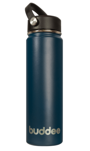 650ml Buddee Bottle WM - Ocean Blue