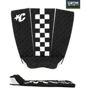 GROM JACK FREESTONE LITE : BLACK WHITE CHEX-creatures-of-leisure-surf-accessories-leashes-grips-bags-darkstar-south-africa